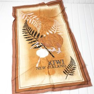 New Zealand Kiwi Wall Hanging